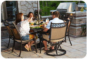 Strictly StoneStrictly Stone Chicago Outdoor Dining Outdoor