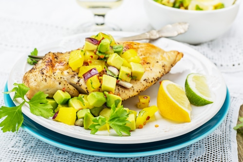 chicken lime and avocado recipe for your outdoor kitchen