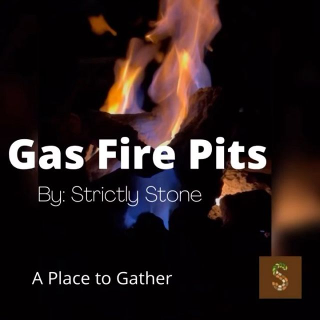 Want a gas fire pit. Reach out to Strictly Stone for a consultation. www.strictlystone.com/homeowners